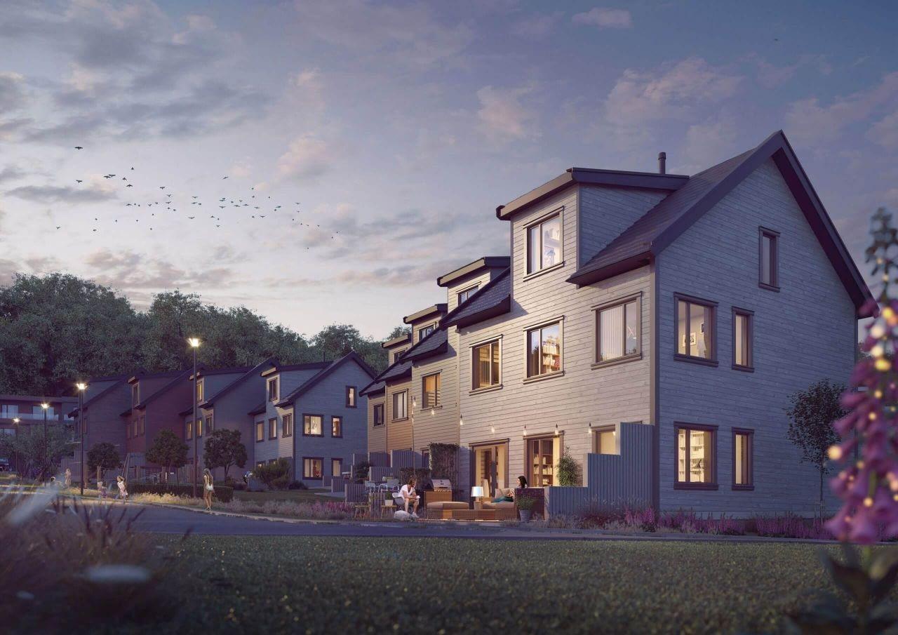 Fasadebilde av Dragonhøyden