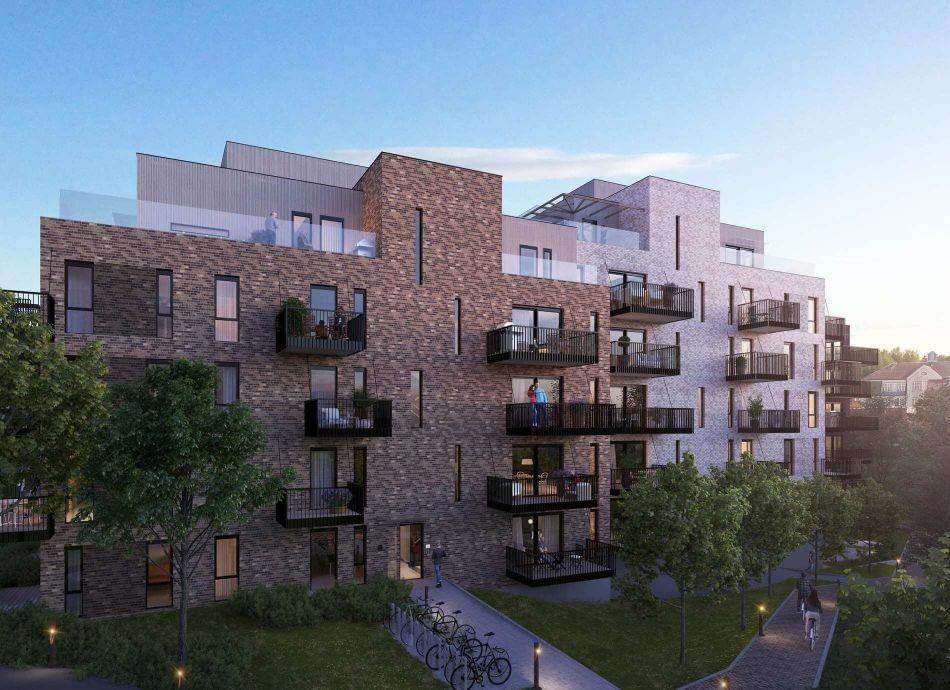 Fasadebilde av Trævarefabrikken